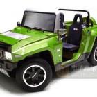 Hummer MEV HX电动车 彪悍的高尔夫球车 来一辆?